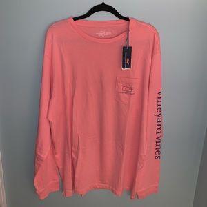 Vineyard Vines Shirts - Men's Long Sleeved Classic T-Shirt